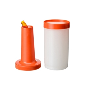 Juice container, orange 1,0 L